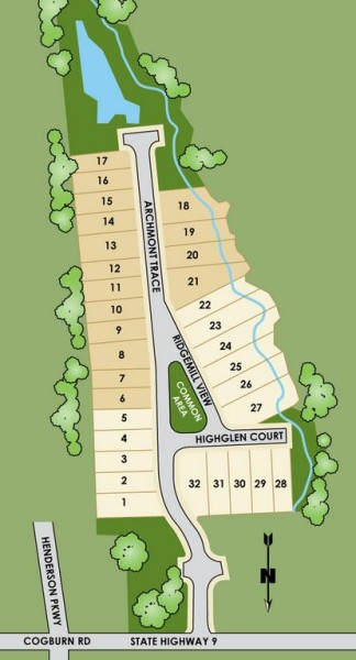 Henderson-Landing-Site-Plan-Milton-GA-Attached-Homes